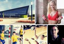 Centrum Widowiskowo-Sportowe w Ożarowie Hala sportowa Kręczki