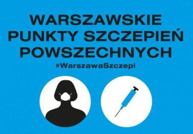 Warszawa czeka na wolontariuszy. Możesz pomóc w szczepieniach!