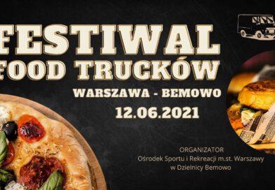 Jedzenie pod chmurką – Festiwal Food Trucków na Bemowie