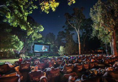 Letnie kino na Bemowie w Parku Górczewska