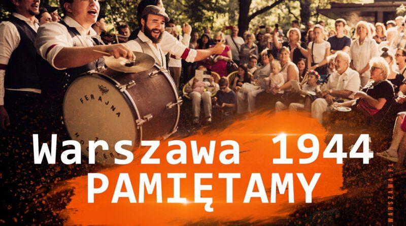 Powstanie Warszawskie rocznica - obchody na Bemowie