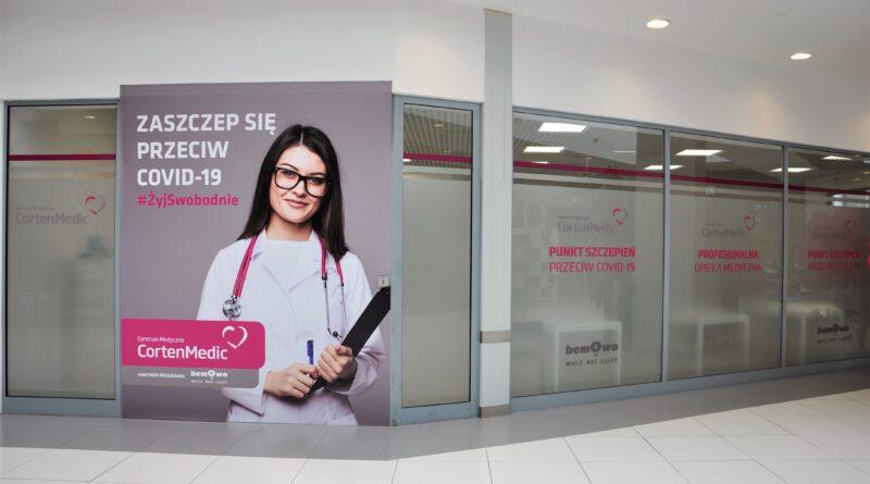punkt szczepień Galeria Bemowo